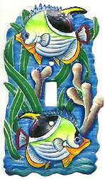 Decorative Switchplate Cover - Tropical Fish - Tropical Home Decor - 5